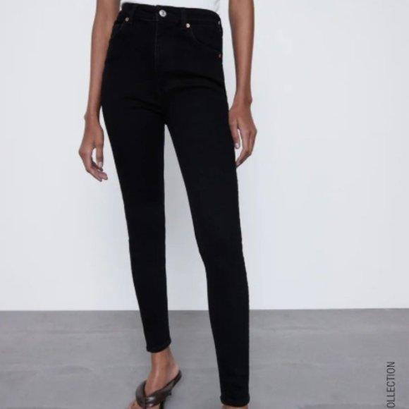 Zara Skinny Vintage Jeans (High Waisted)